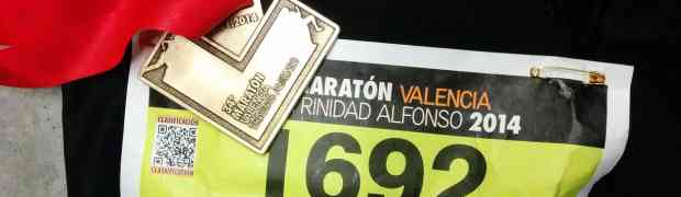 Maratón Valencia 2014. Fin de temporada y conclusiones